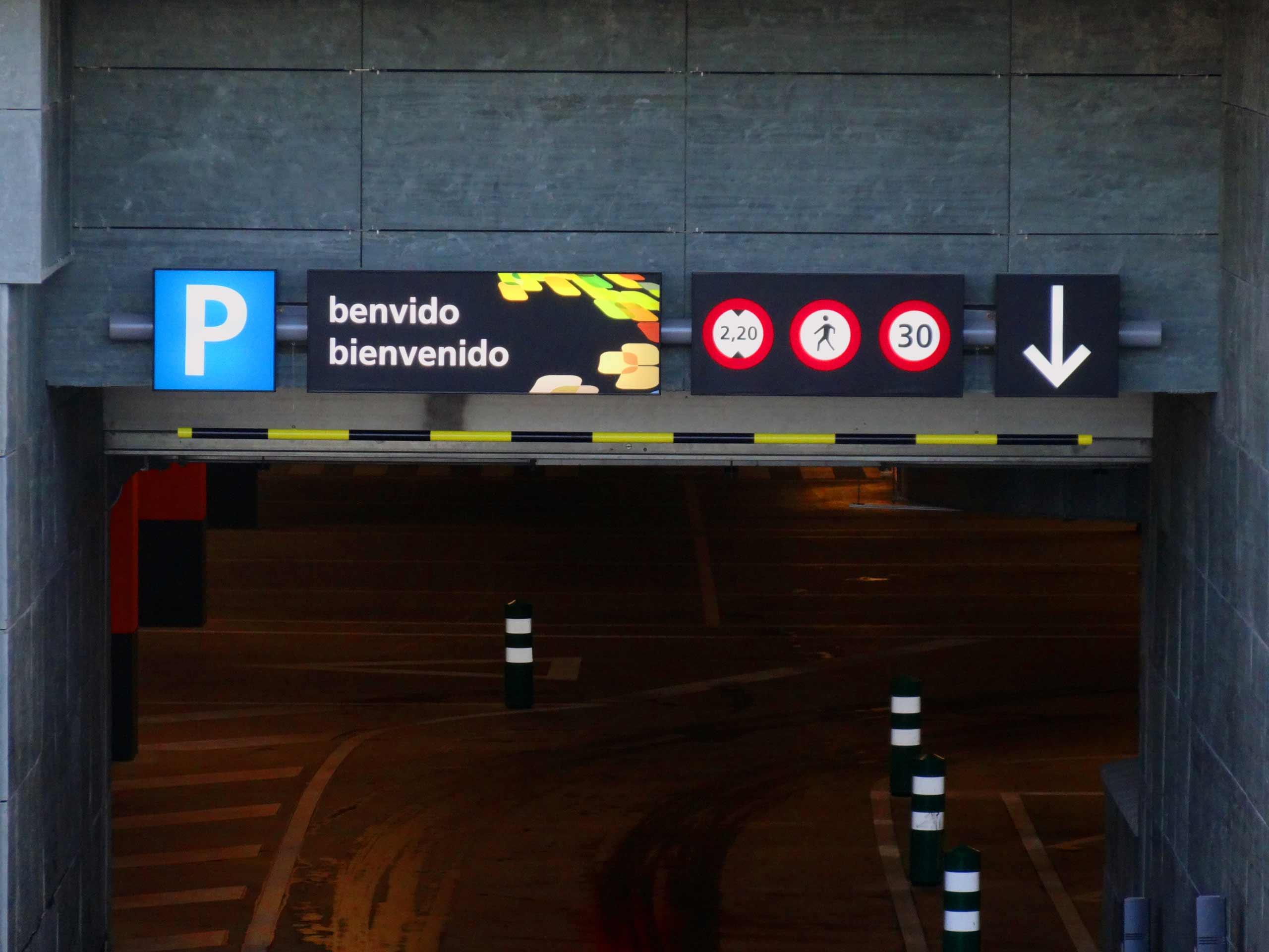 Señalización Parking